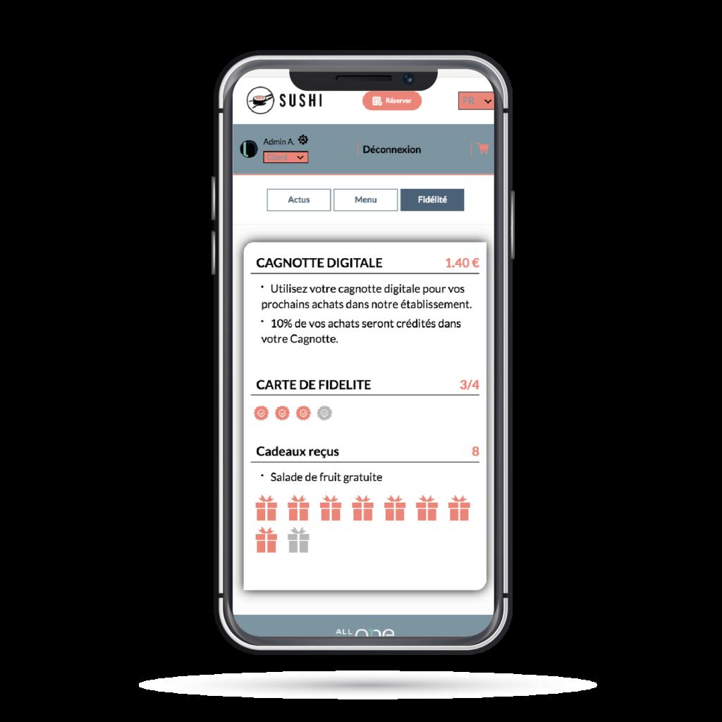 3 programmes de fidélité en ligne pour votre restaurant avec AllEatOne